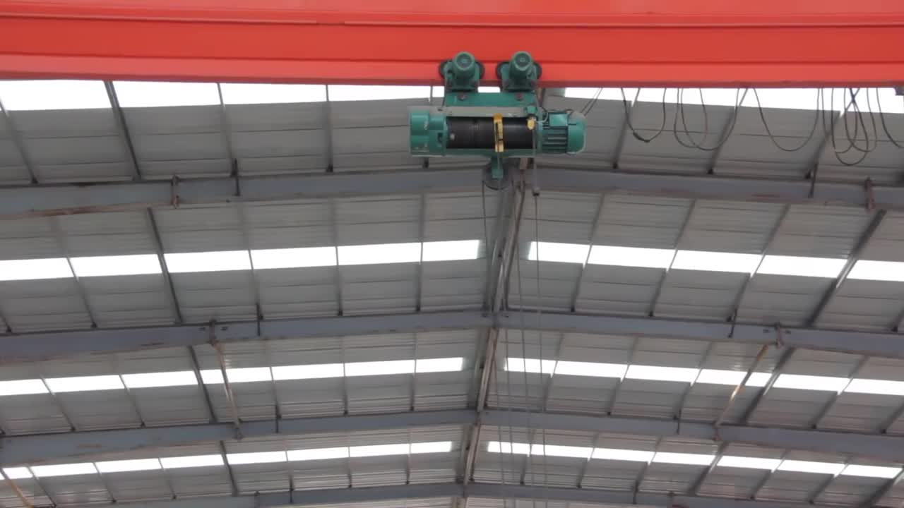 CD MD electric wire rope hoist with remote control