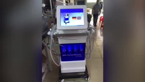 High Performance Hydro Dermabrasion Facial Aqua Peel Skin Cleaning Beauty Hydra Machine for Skin Tightening price