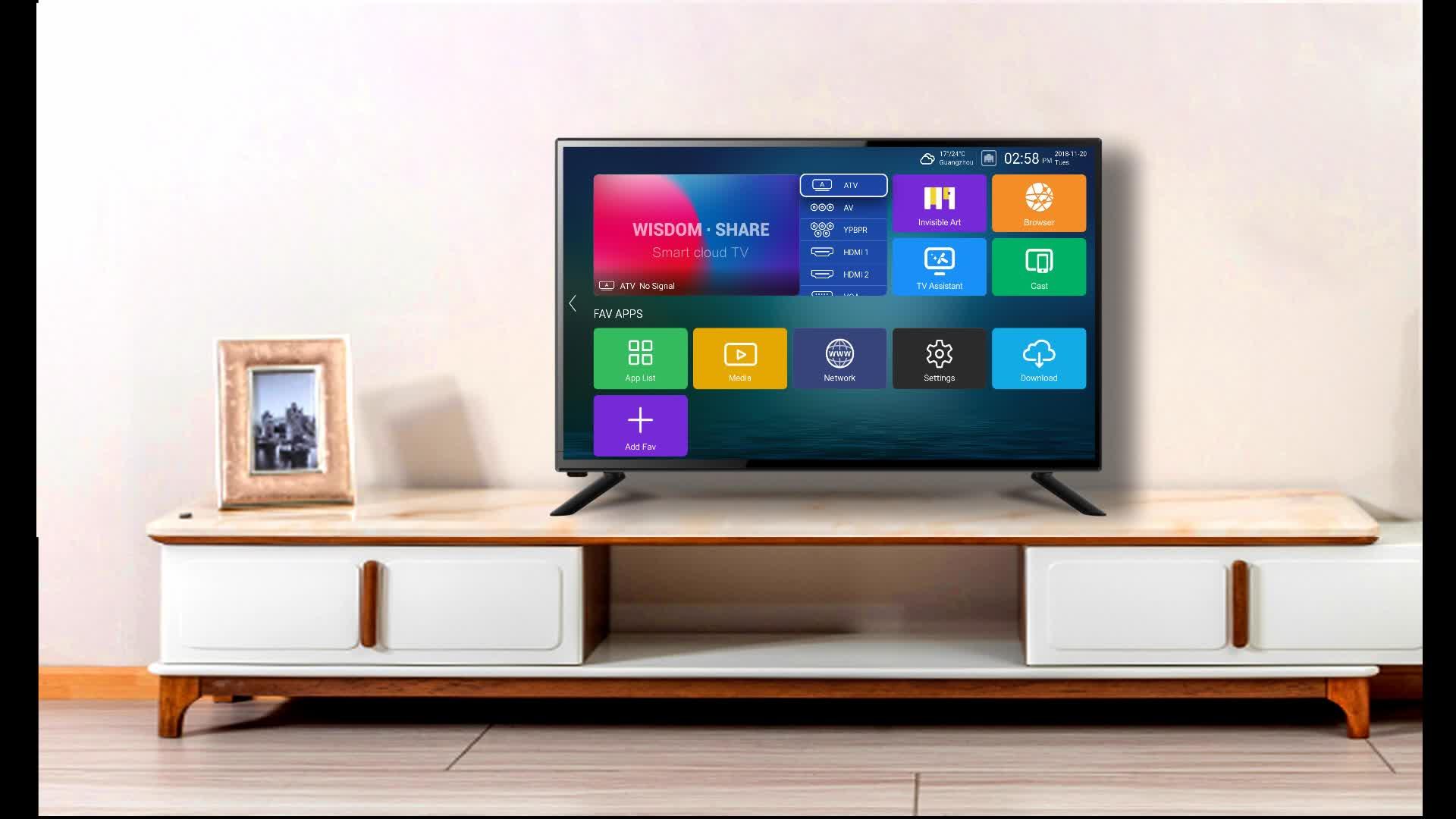 सस्ते 32 38.5 39 40 इंच एलईडी पट्टी सभी में एक पीसी टीवी dvb s2 एंड्रॉयड टीवी