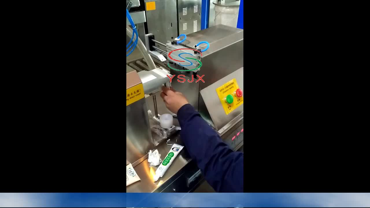 2019 Ultrasonic toothpaste/medical hose sealing machine with best price