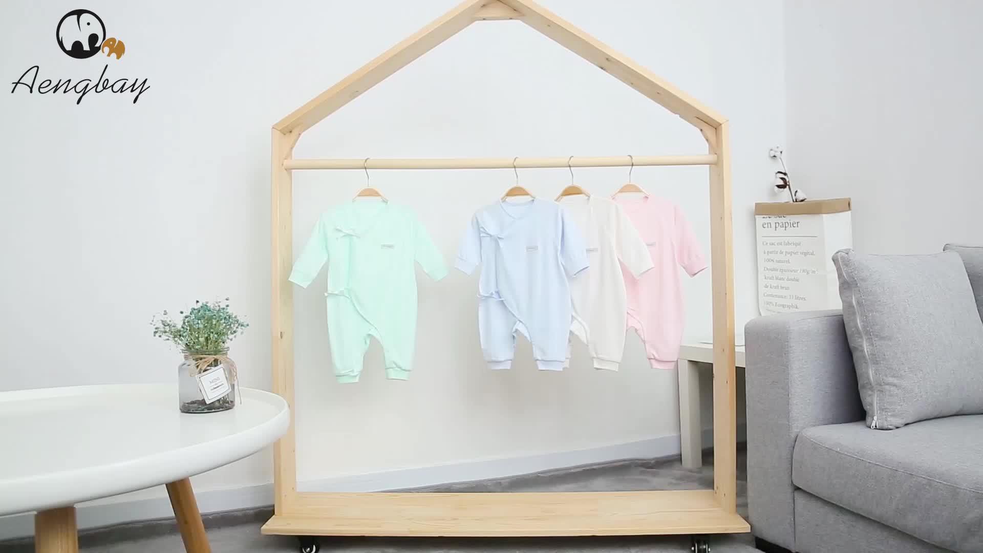 เด็กทารกหญิง Romper ผ้าฝ้าย Coverall Romper ทารกแรกเกิดบอดี้สูท