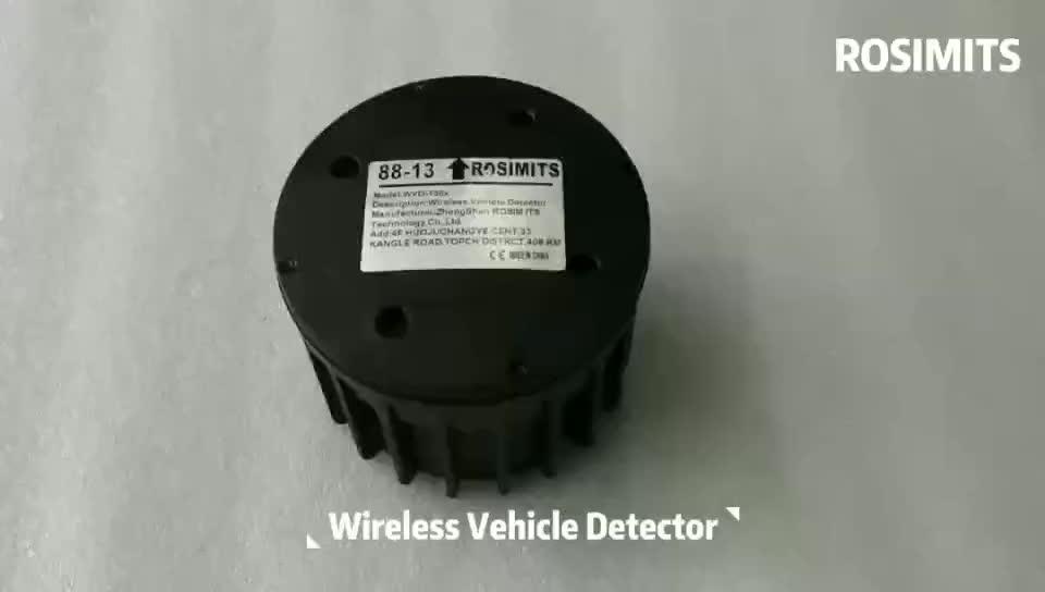 Rosim drahtlose magnetometer-sensor auto verkehrs zähler für intelligente verkehrs system