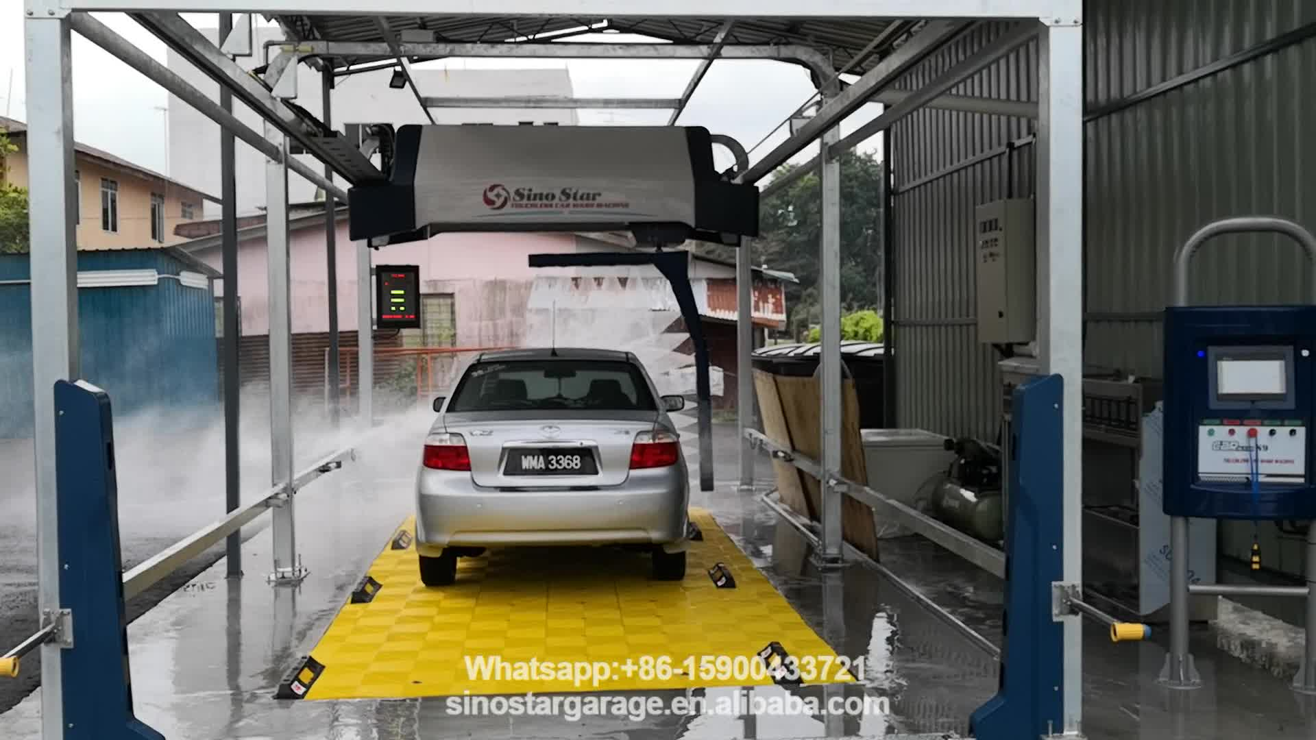 Best quality automatic car washing machines price for sale/ touchless car wash machine system for luxury car