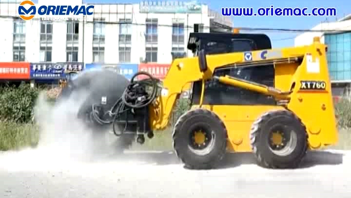 XCMG Cheap XT760 Skid Steer Loader with Attachments Price
