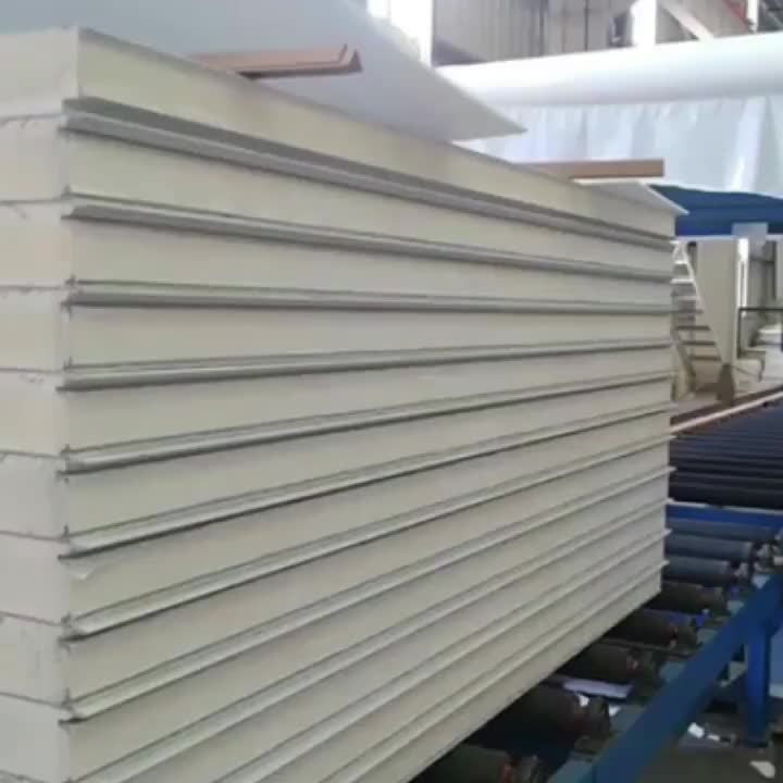 -30 -40 Degree Celsius PIR Foam B1 Fireproof New Material Freezing Storage Room Sandwich Panel