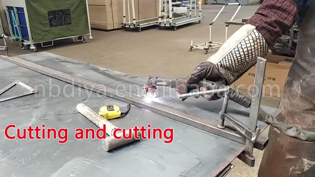 DY77 4 inch 5 inch 6 inch औद्योगिक आयरन पु कुंडा भारी शुल्क ढलाईकार चल पहियों