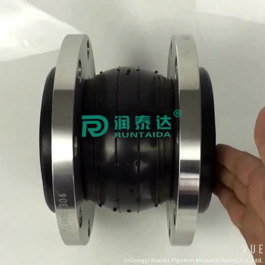 Factory supply single ball epdm rubber flexible expansion joints