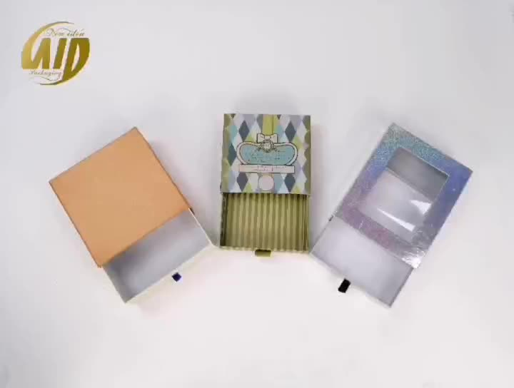 new product window box packaging,paper box with window