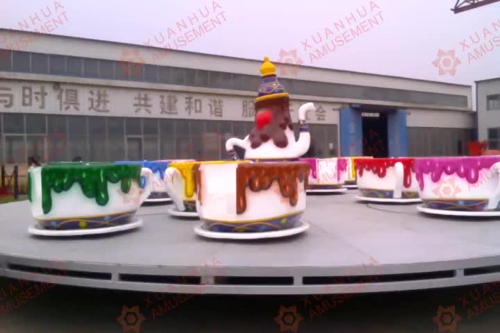Interesting fantasy spinning teacups amusement equipment spin the teacups