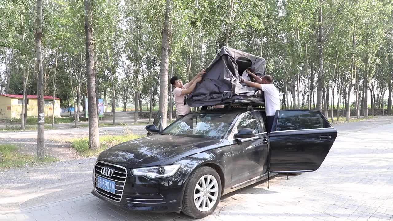 Overland Met Luifel Draagbare Auto Roof Top Tent Te Koop