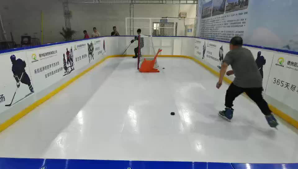 self lubrication uhmwpe synthetic hockey rink boards