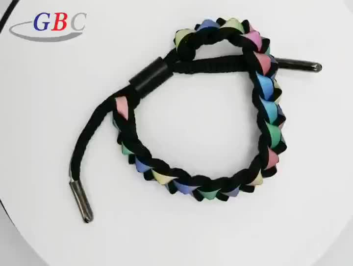 Fashion woven bracelet for fashion sports decoration