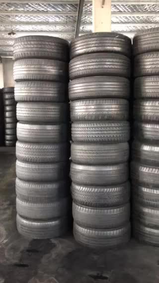 Neumáticos usados de segunda mano de 12-20 pulgadas 4mm-5mm