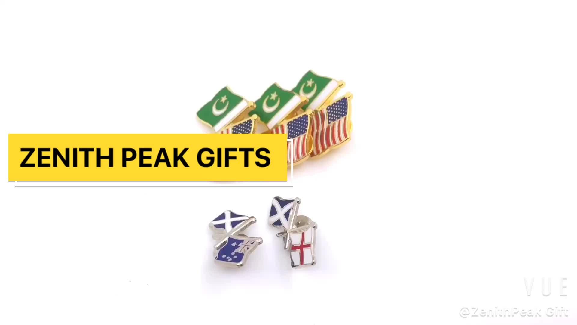 Emirados Árabes unidos Lapela Pinos Chapéu magnético alfinete de lapela