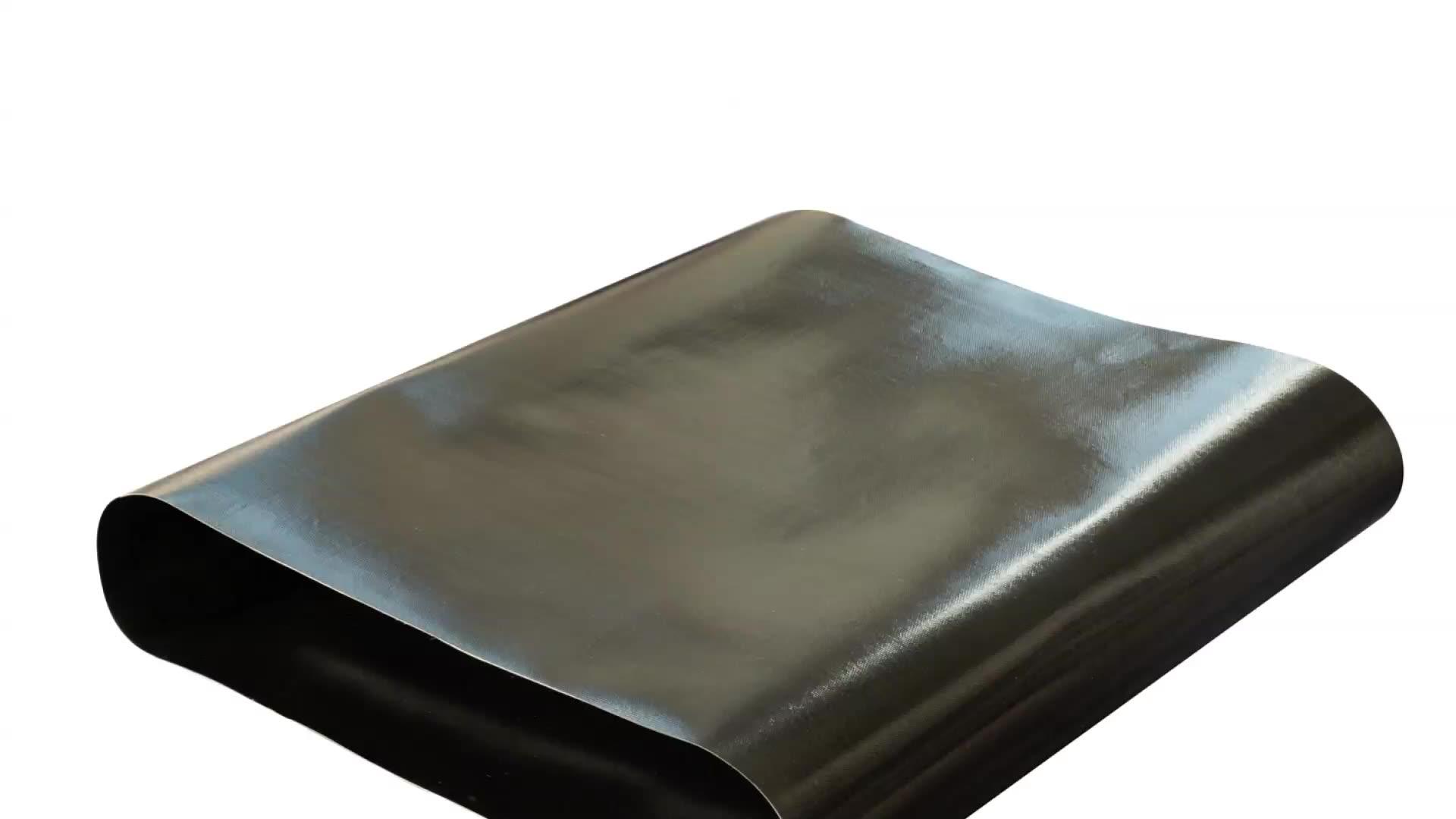 Tamanho personalizado preto antiestático tecido ptfe seamless correia de transmissão