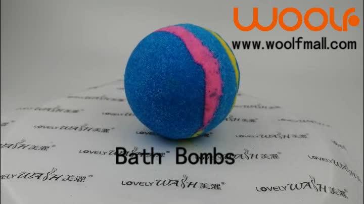 कस्टम निजी लेबल स्नान बम किट कार्बनिक स्नान बम उपहार सेट