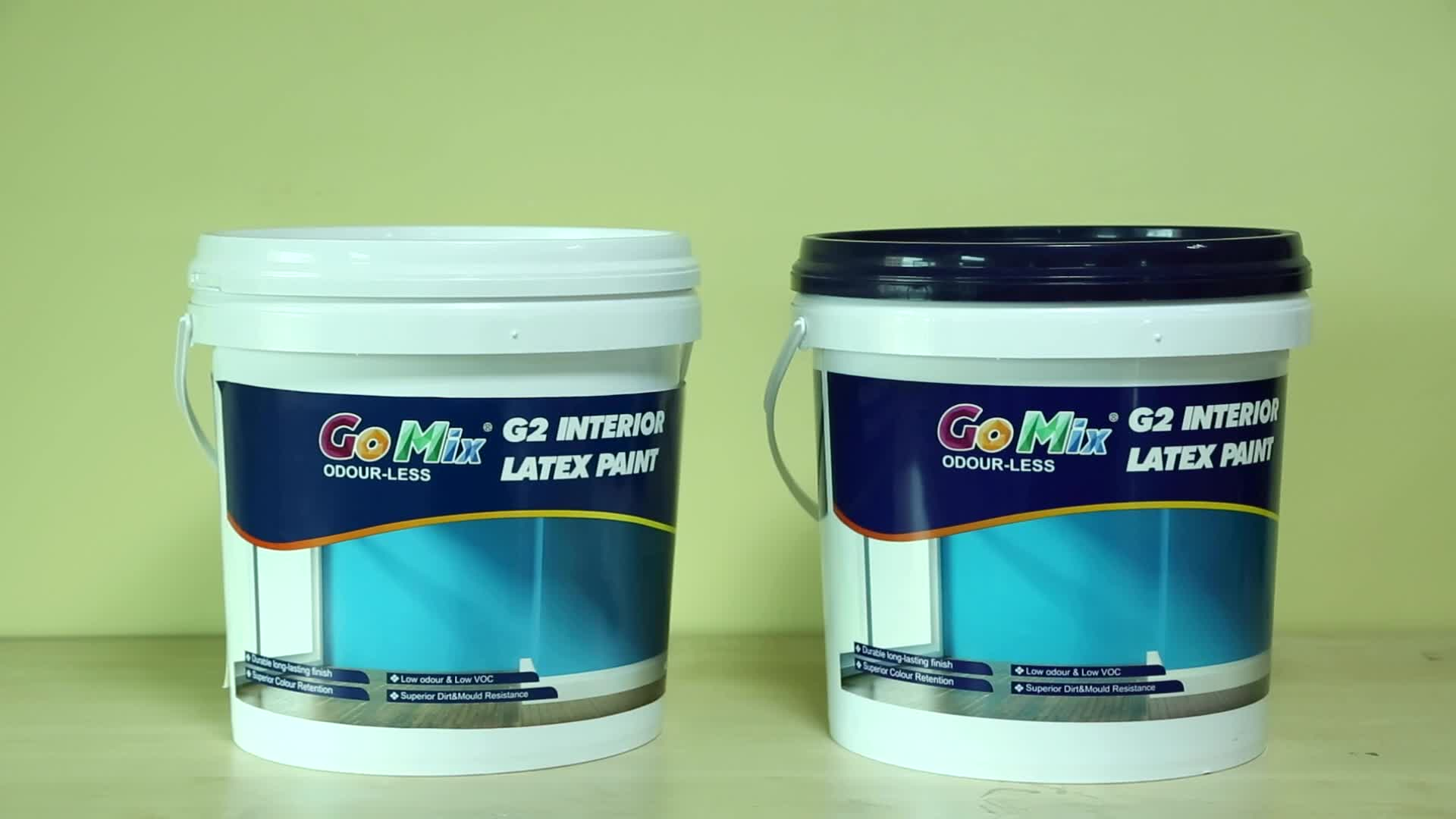UV and Dirt Resistant Washable Multiple Color G3 Exterior Wall Paint