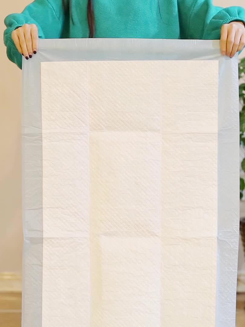 Wegwerp soft multifunctionele onderlegger/Super absorberende incontinance verpleging pads/Lek guard baby slapen pad bedrijf