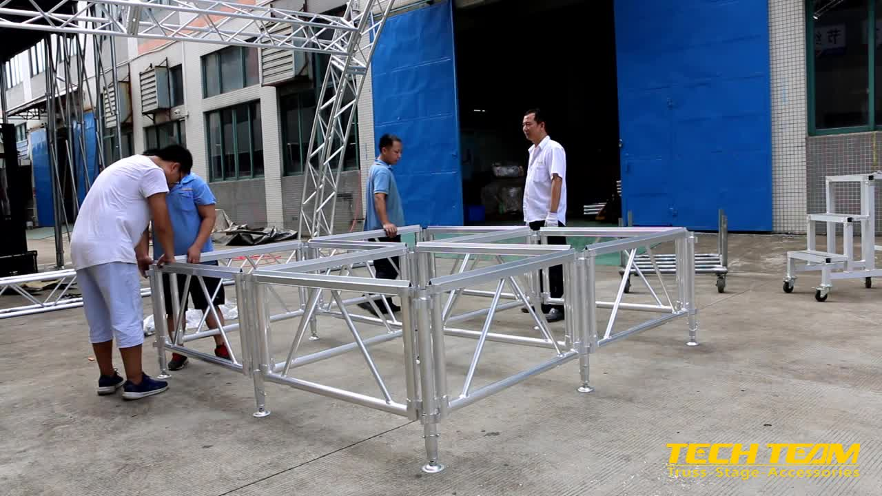 Adjustable mobile stage , mobile stage for sale , large entertainment Stage