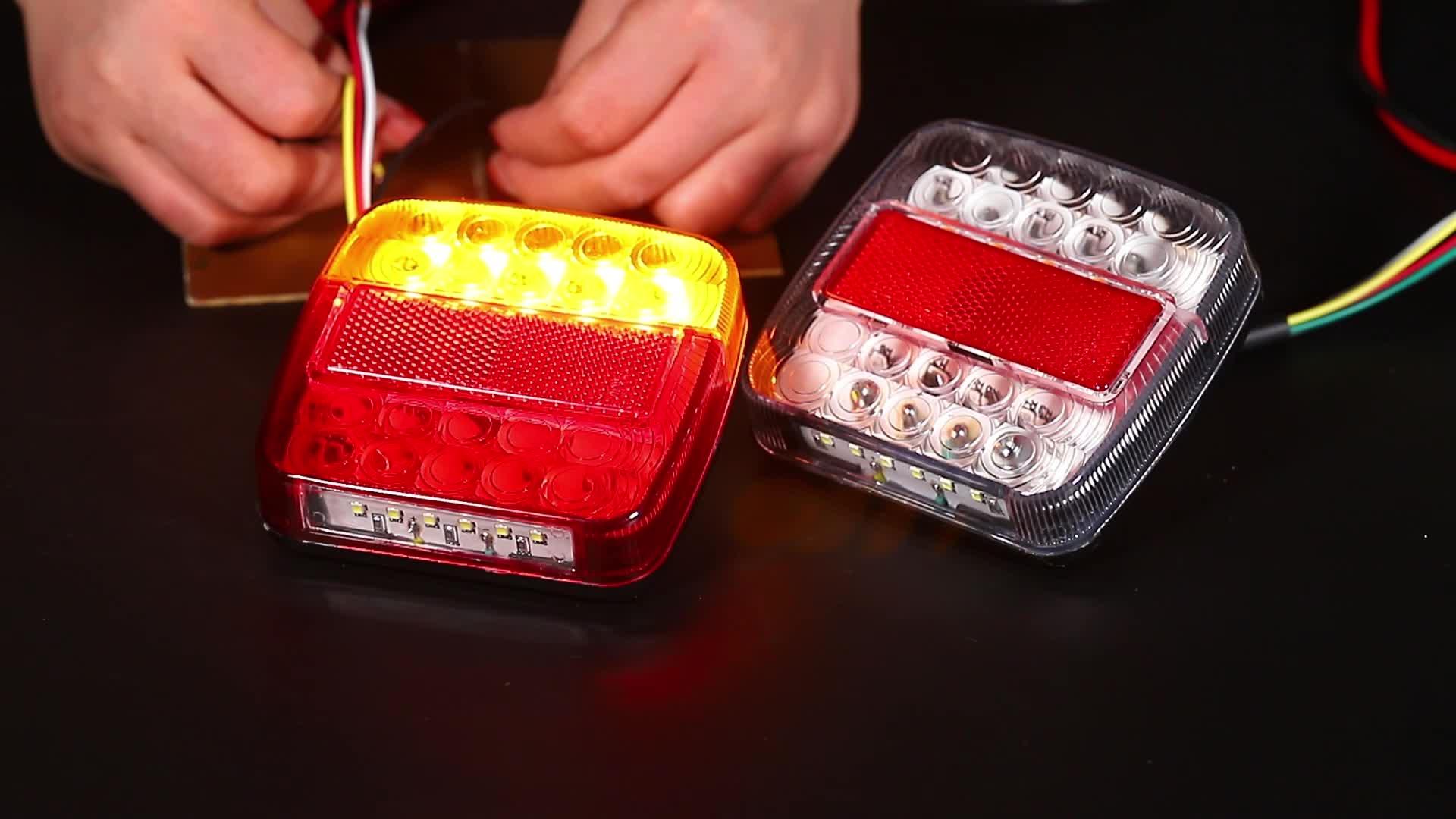 Uygun fiyat en kaliteli led ok kamyon römork ışık 12v led far ışık kiti