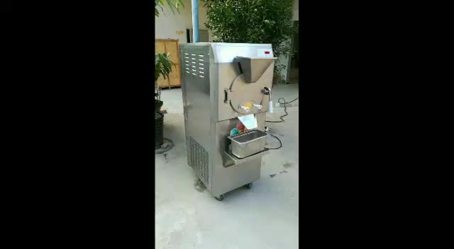ETL CE Rohs Approval Italy Gelato Hard Ice Cream Machine/batch freezer