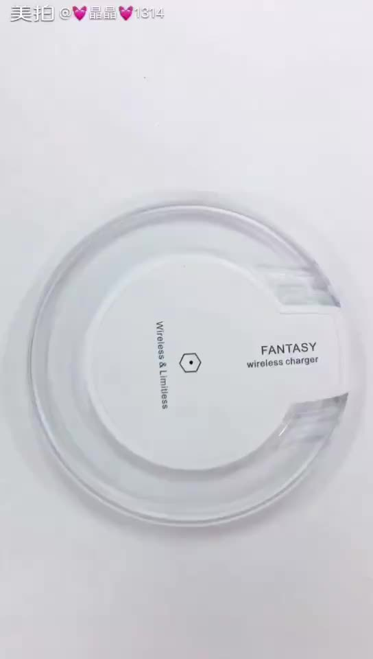 Charger Wireless Fantasy Nirkabel Pengisian Portable Qi Charger