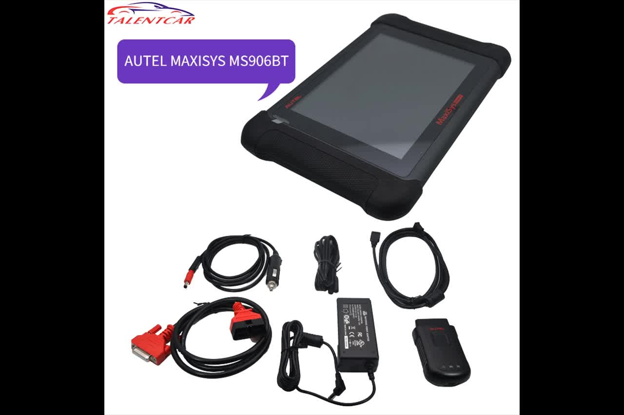 Automotive Diagnostic Scanner Original Autel MS906BT Maxisys MS906BT Supports Oscilloscope and Digital Inspection MS906