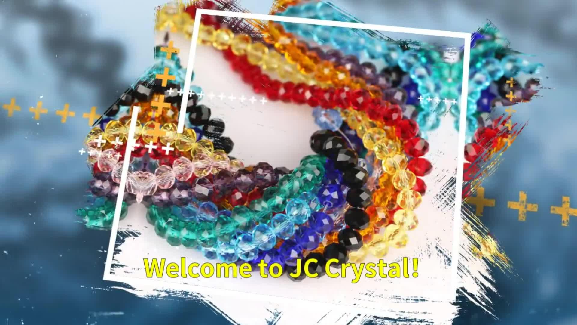 Vendita Diretta della fabbrica branelli allentati rotondi perline di cristallo per la decorazione di vetro branelli allentati