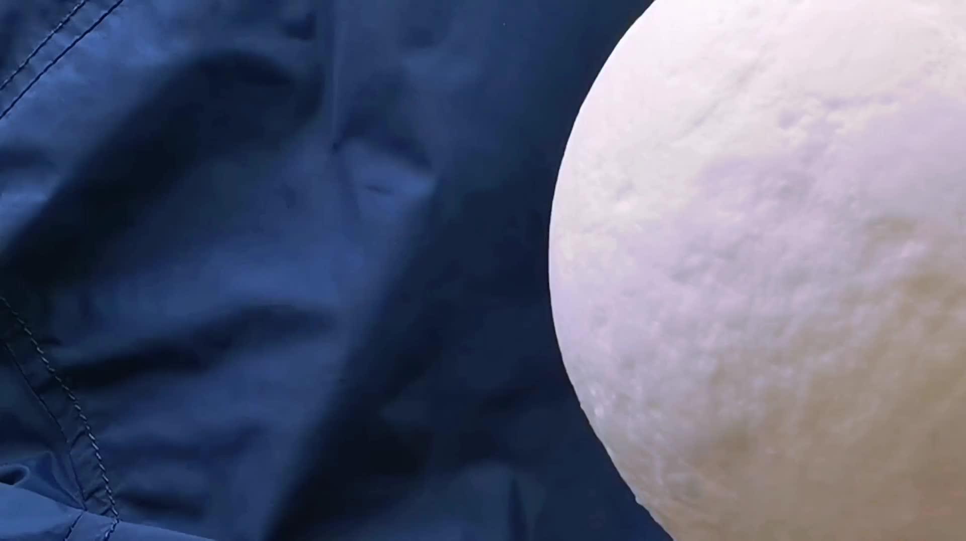 충전식 무료 아마존 바코드 따뜻한 화이트 콜드 화이트 Led Nightlight 3d 문 램프 보름달