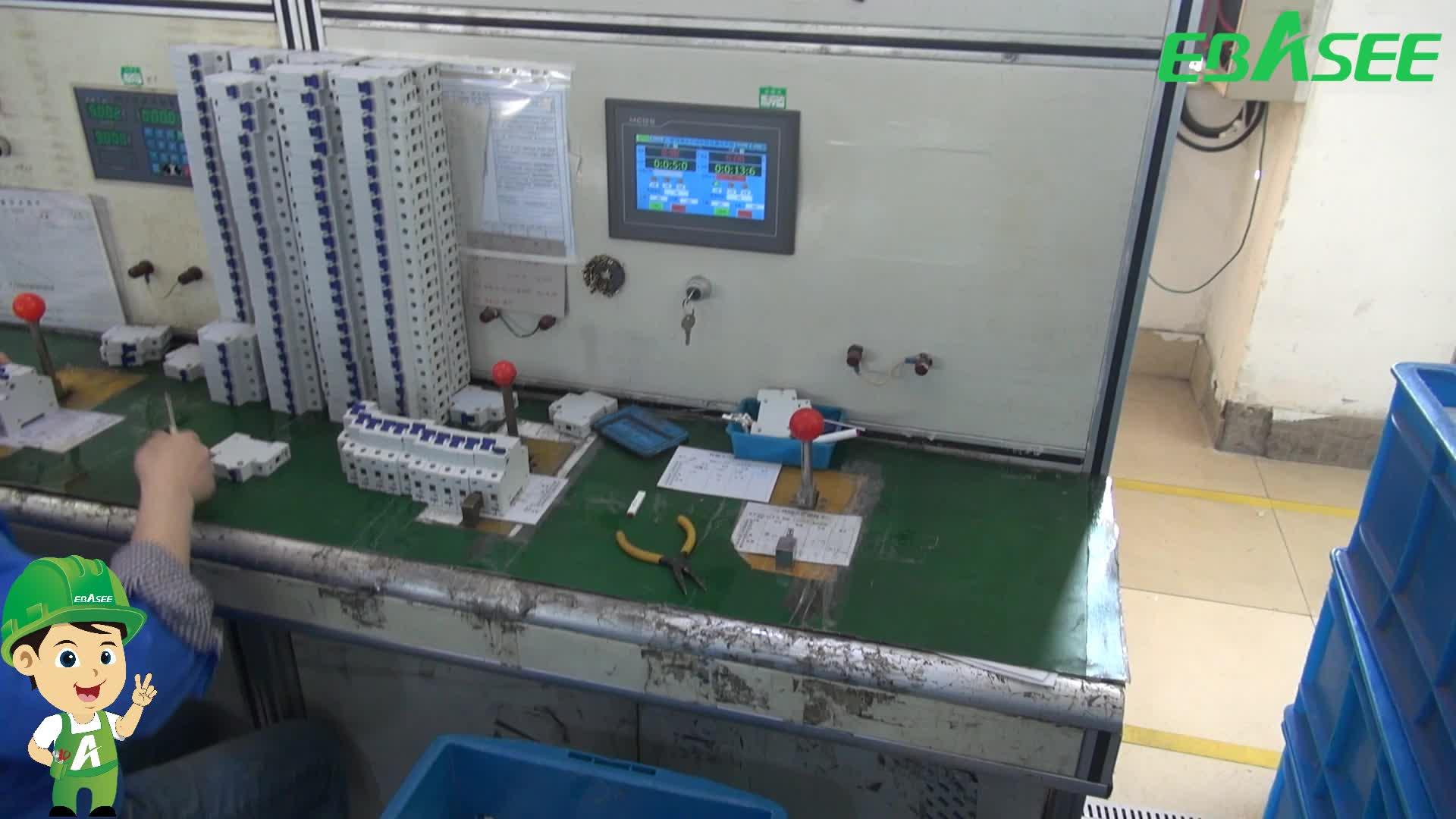 קניות באינטרנט B סוג RCD RCCB AC DC 10KA 400V ELCB מפסק מחיר 4P 63A 30mA