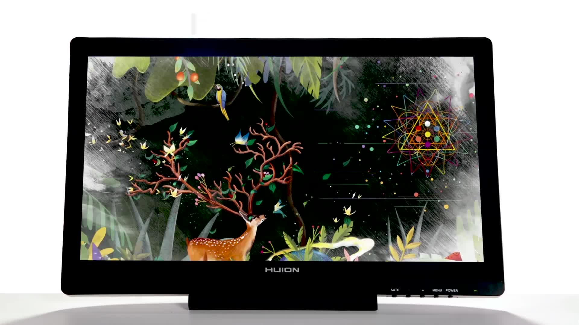 Huion Kamvas Gt-191 19 5 Inch Ips Lcd Pen Display Monitor 8192 Levels  Graphics Digital Pen Touch Monitor - Buy Huion Kamvas Gt-191,Pen Touch