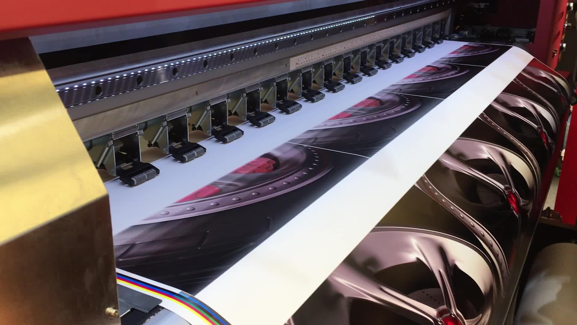 MT refretonik geniş Format dijital 1.8m esnek afiş baskı makinesi