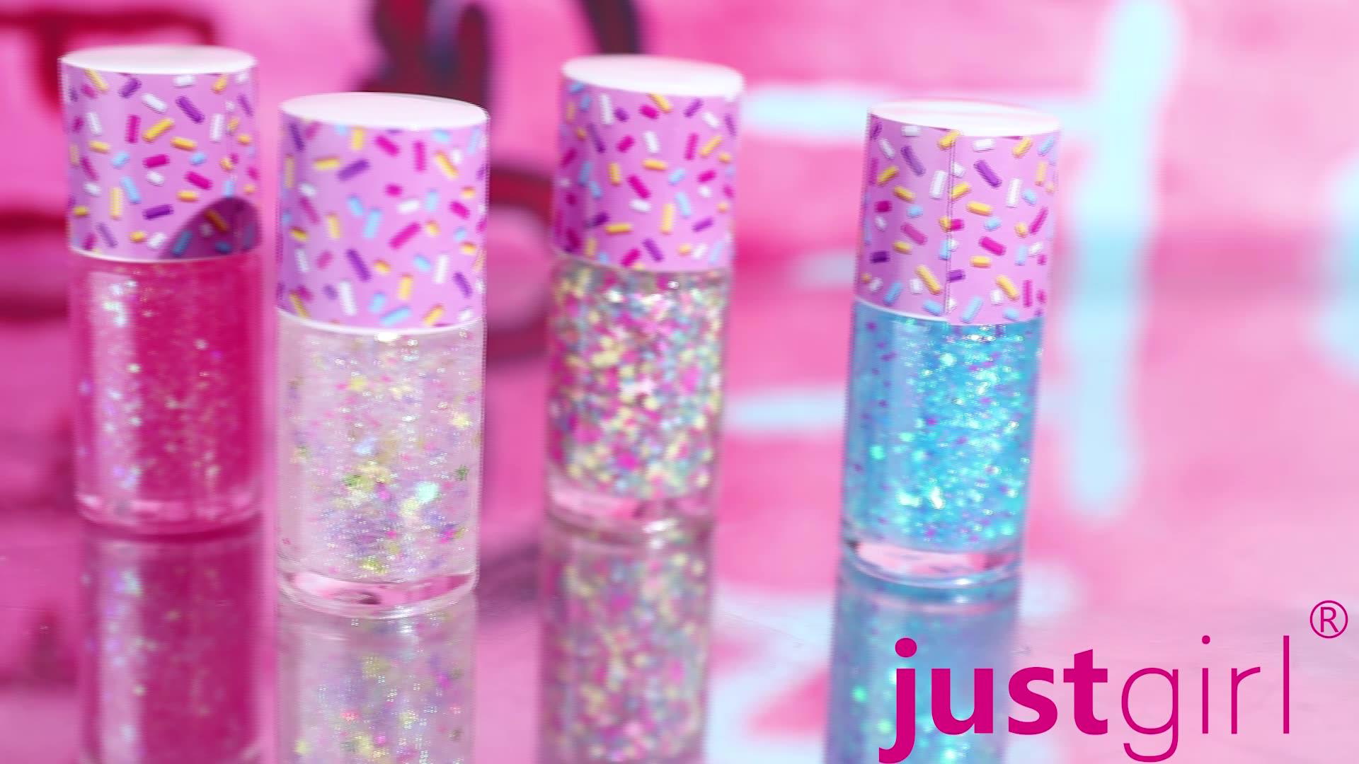 Regenbogen bunte glitter kinder nagellack ungiftig mit private label