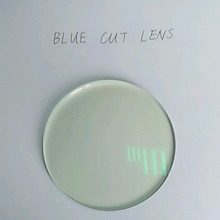 1.67 blue cut UV420 SPH0~-10.00 CYL0~-2.00 optical lens in stock