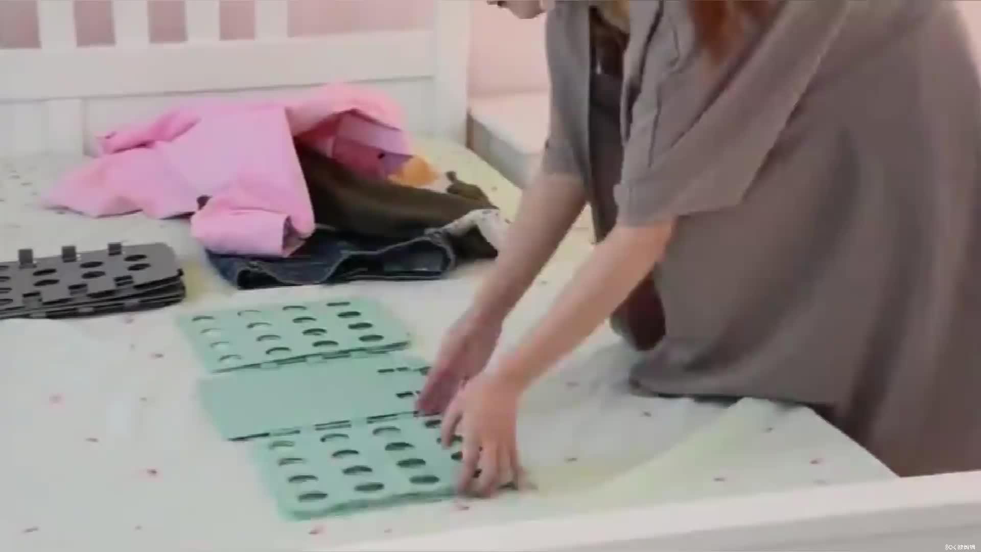 BPA Free PP Plastic T shirts folder folding boards  Easy laundry folder shirt Dress Pants Towels Clothes Folding Board