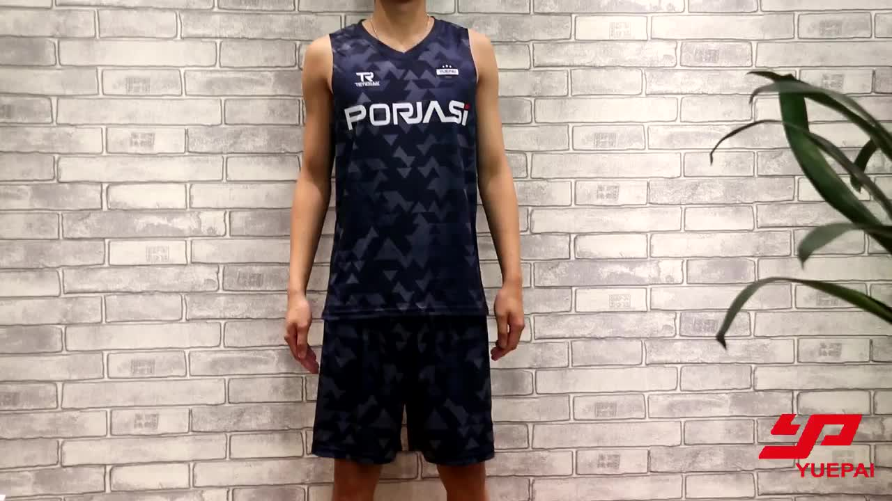 2019 Custom Sublimated Men's Latest Best Basketball Jersey Design
