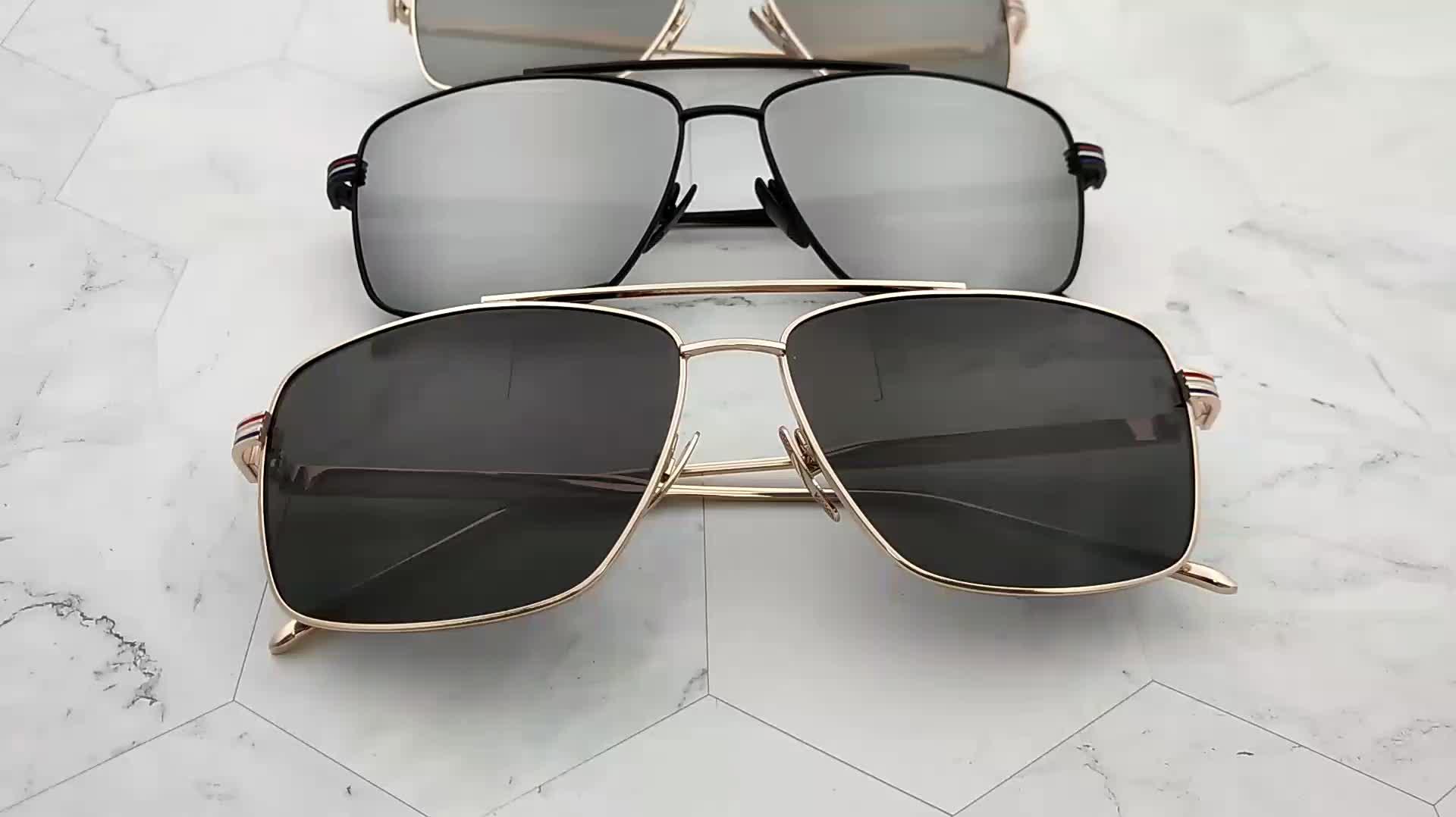 Itália Homens Do Projeto Da Marca Anteojos Óculos De Sol China Preço de Fábrica Personalizado de Alta Qualidade de Lentes De Sol