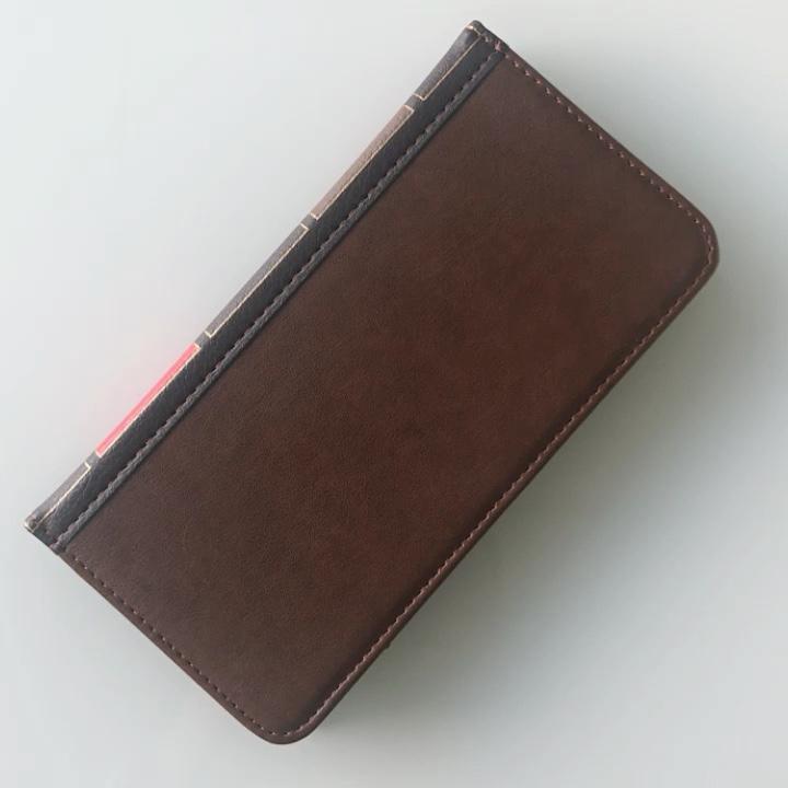 Business Retro Brieftasche leder fall Für iPhone 11 Abdeckung flip Pouch