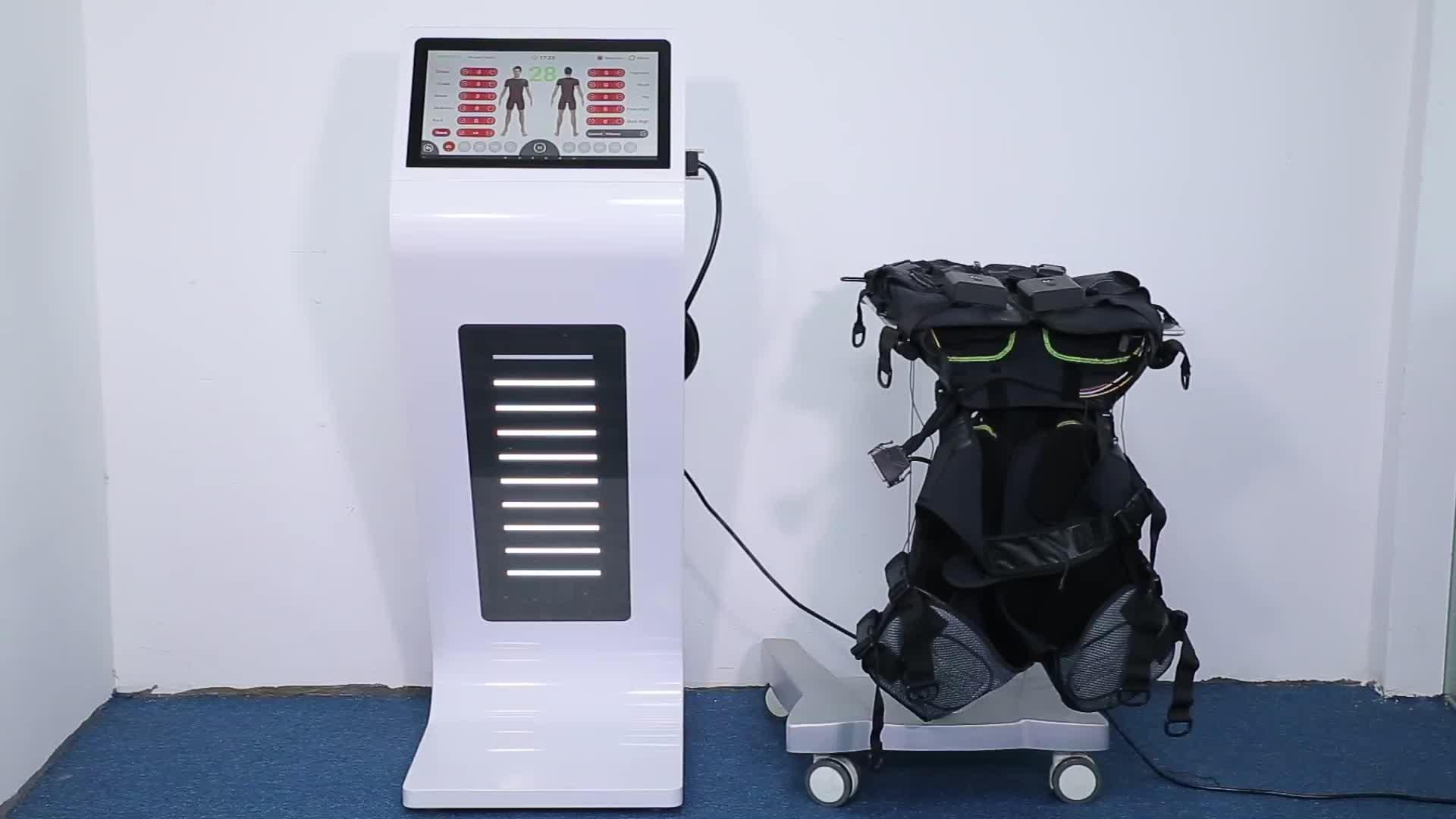 SBODY Electroestimulador ems トレーニングスーツ/ワイヤレス ems フィットネスマシン