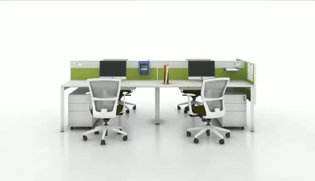 Hot sale modern standard staff office furniture desk office