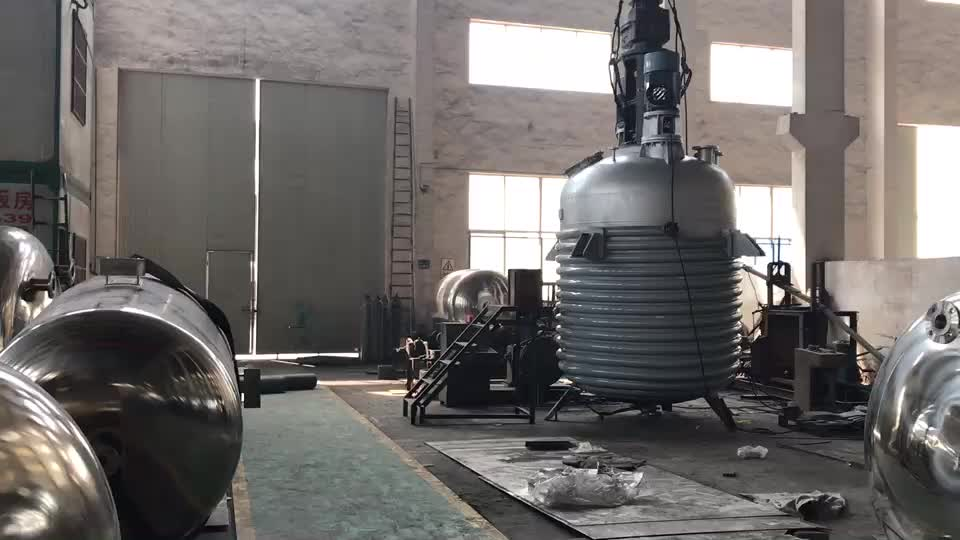 Superiorcontinuous stirred tank reactor price reaction kettle high pressure reactor