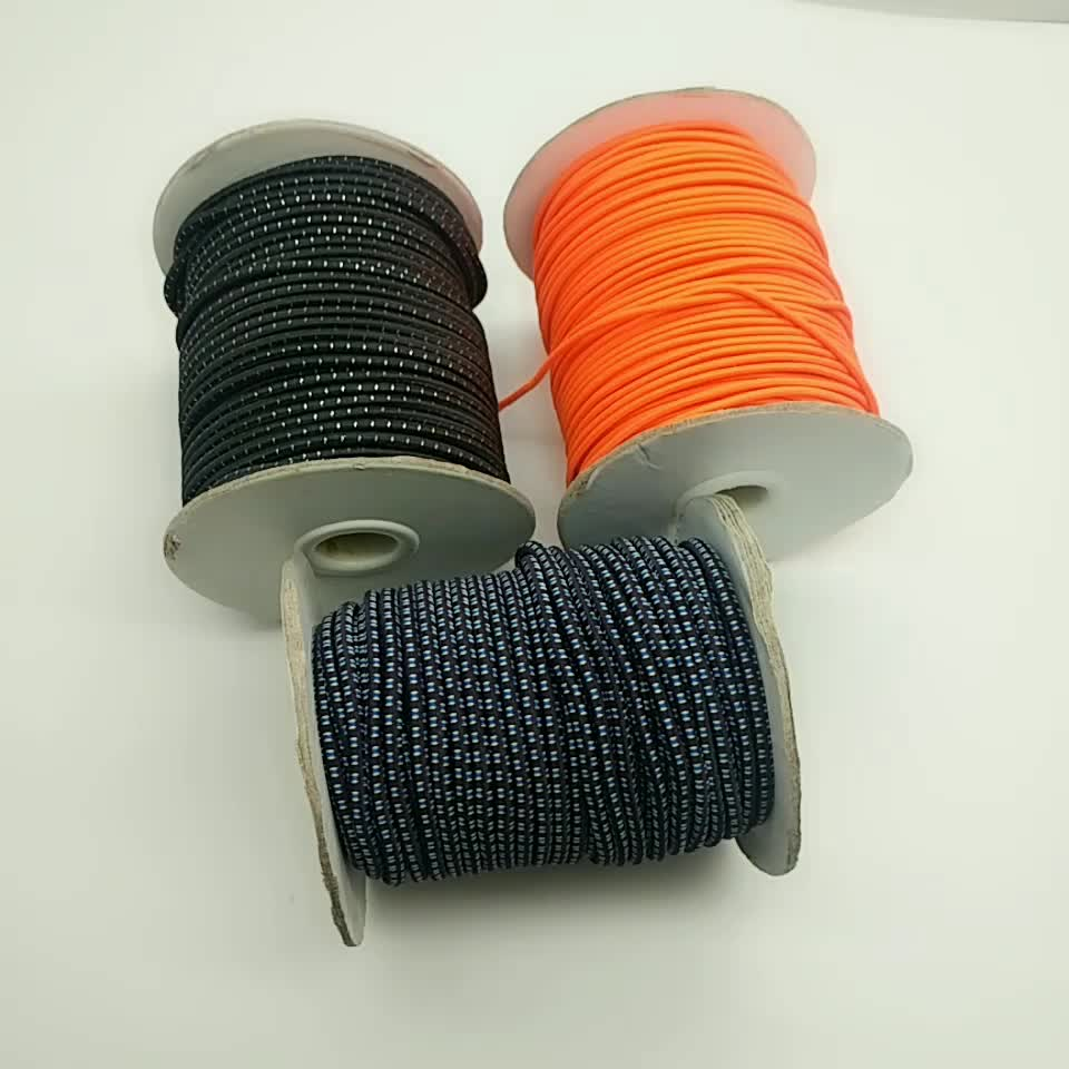 eco-friendly durable round elastic cord for garment