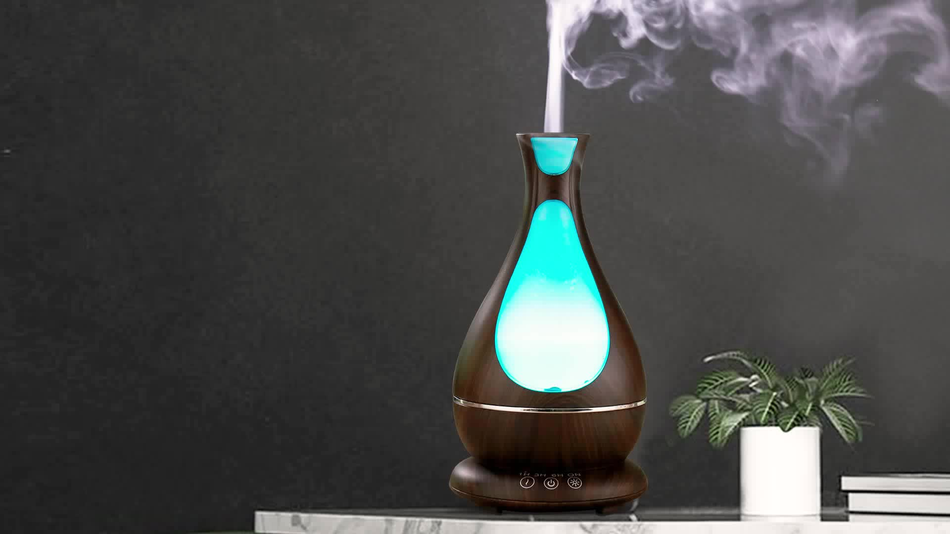 Hygea 2019 Trending Products Ultrasonic Aromatherapy Essential Oil Diffuser