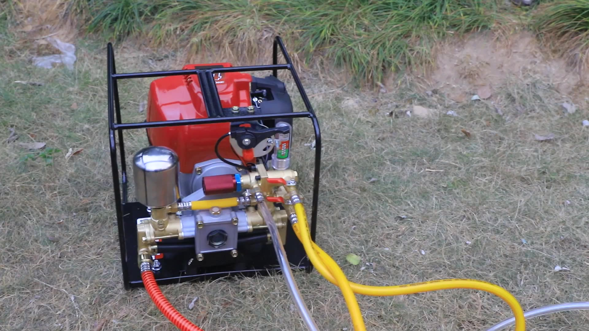JTPPS35-S China Portable Power Engine Pump Agricultural Frame Power Sprayer