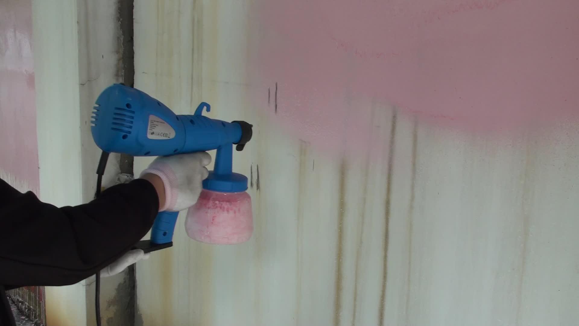 600 W ไฟฟ้า HVLP Airless Paint Sprayer/มือถือ Sprayer เครื่อง