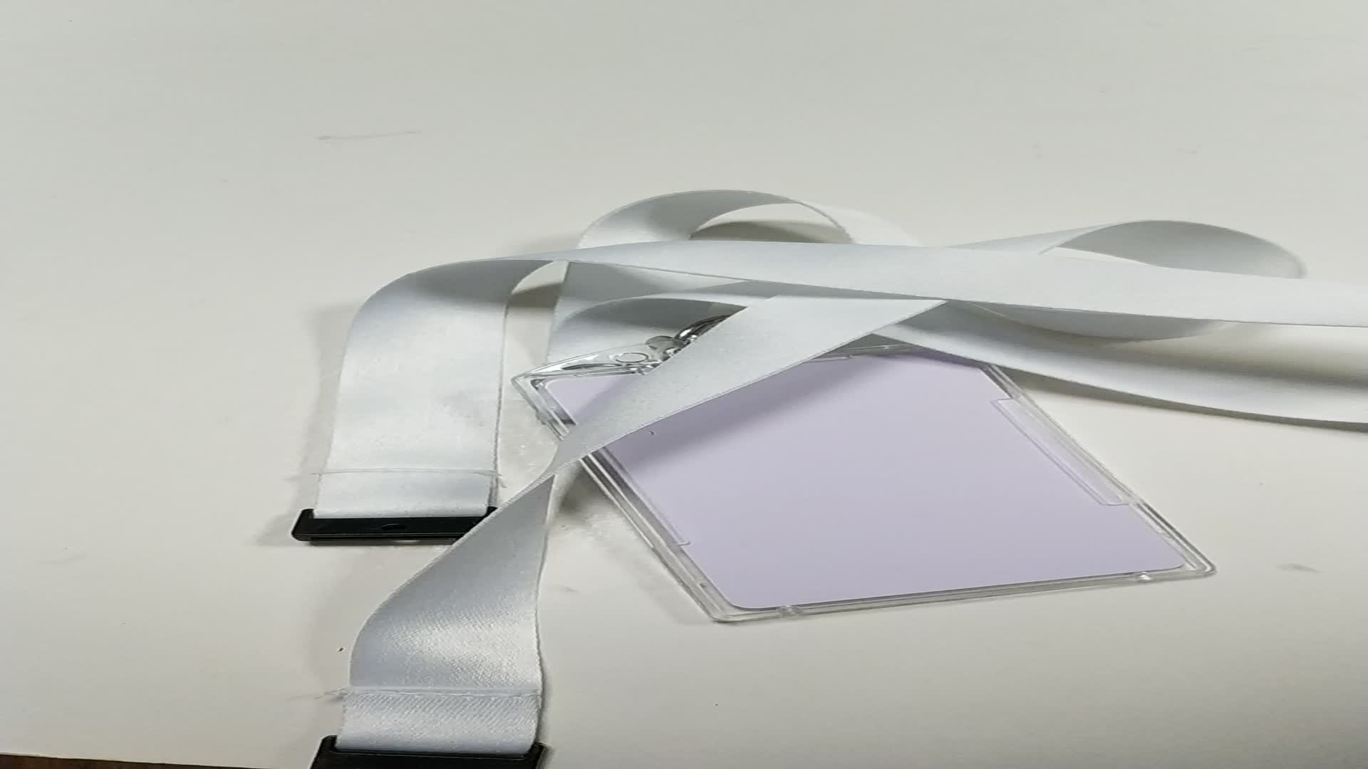 Custom Brand Name Lanyard Maker, Safety Clip Blank Sublimation Lanyard Design For Keys