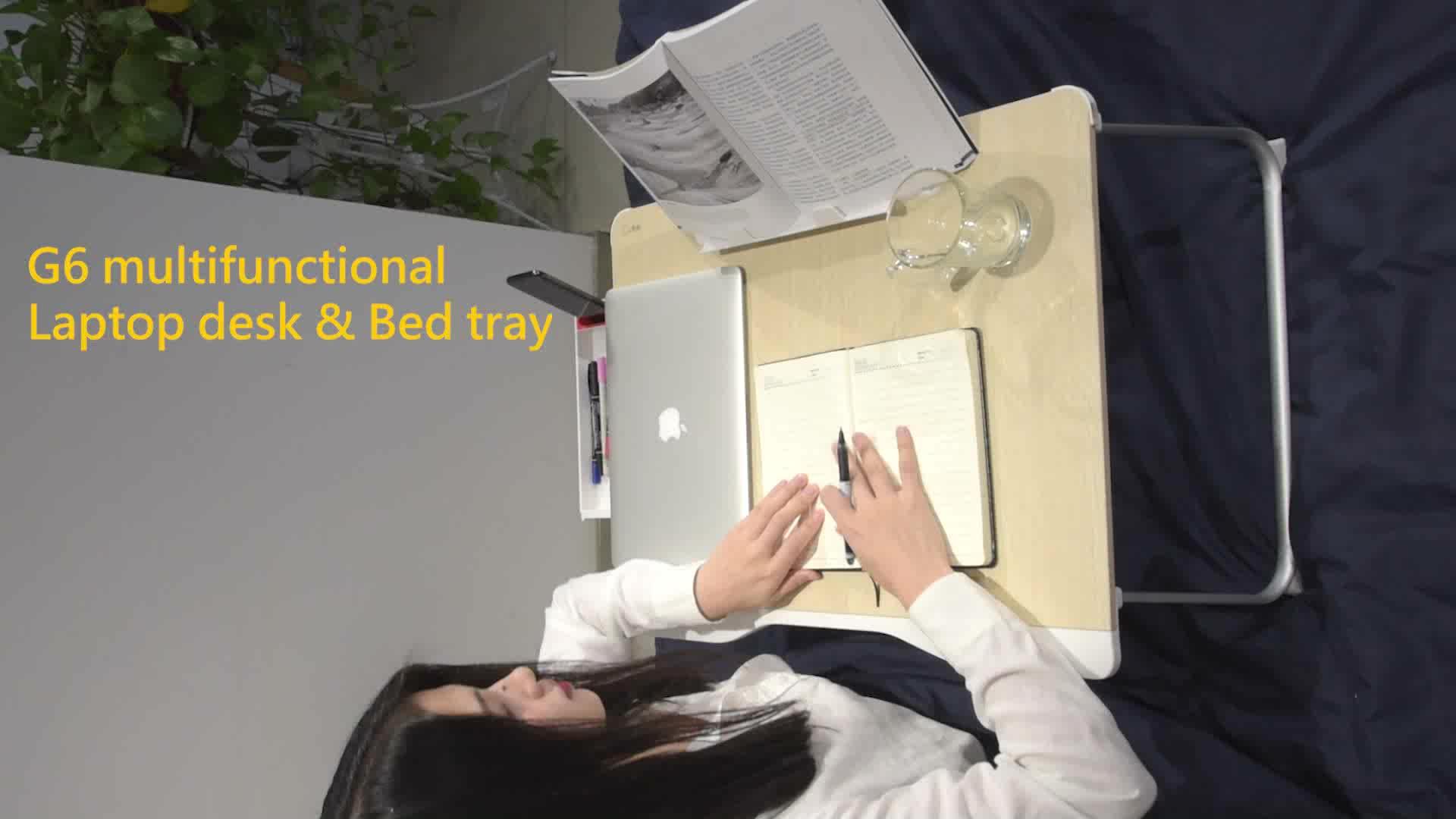 جديد مريح أثاث أطفال مكتب مذاكرة قابل للتعديل كتاب حامل درج منضدة للسرير مكتب محمول