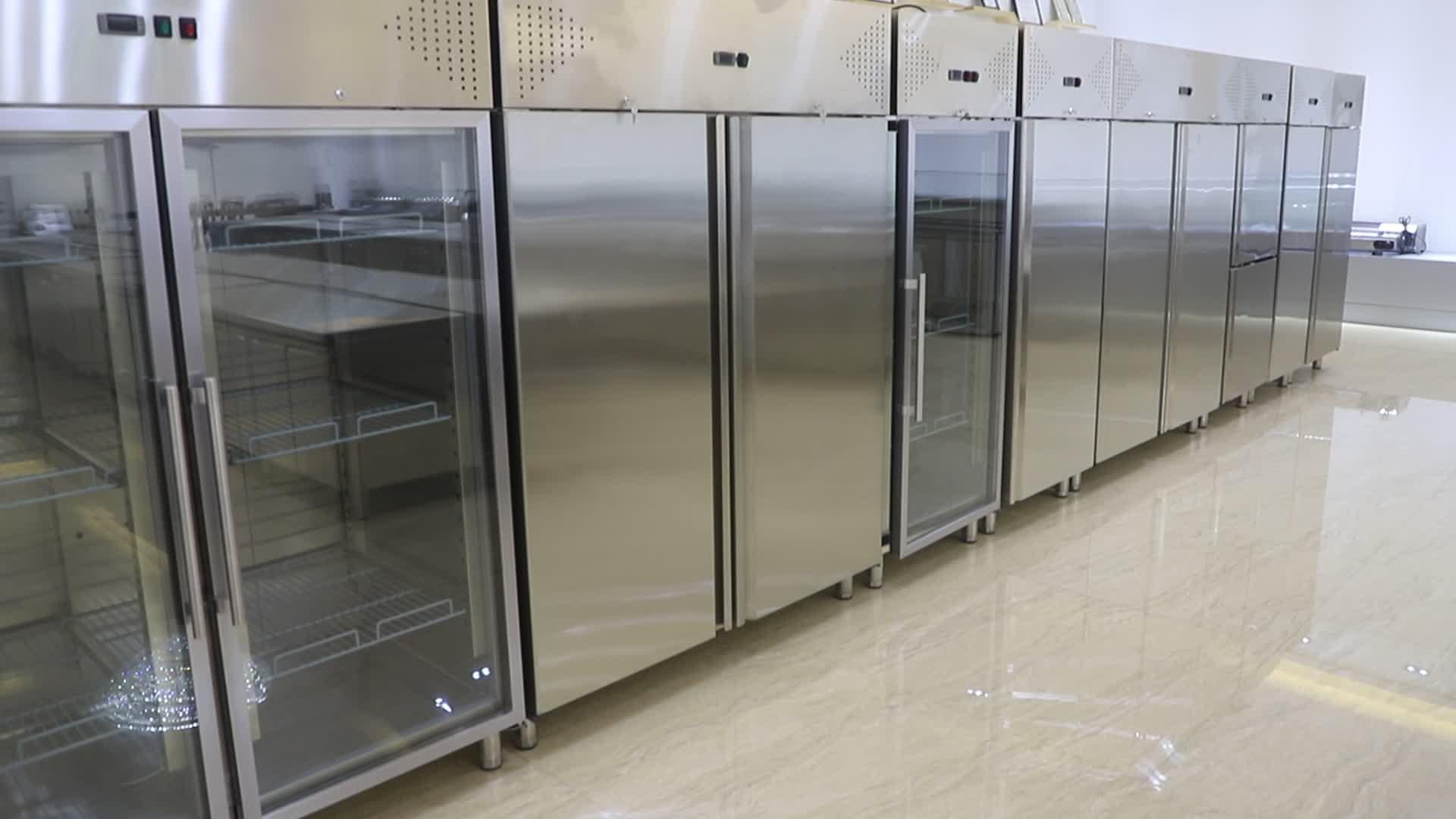 Restaurant Commerciële Rvs Koelkast Vriezer/Dubbele Deur Koelkast Refrigeratoion Apparatuur BN-UC1300R2