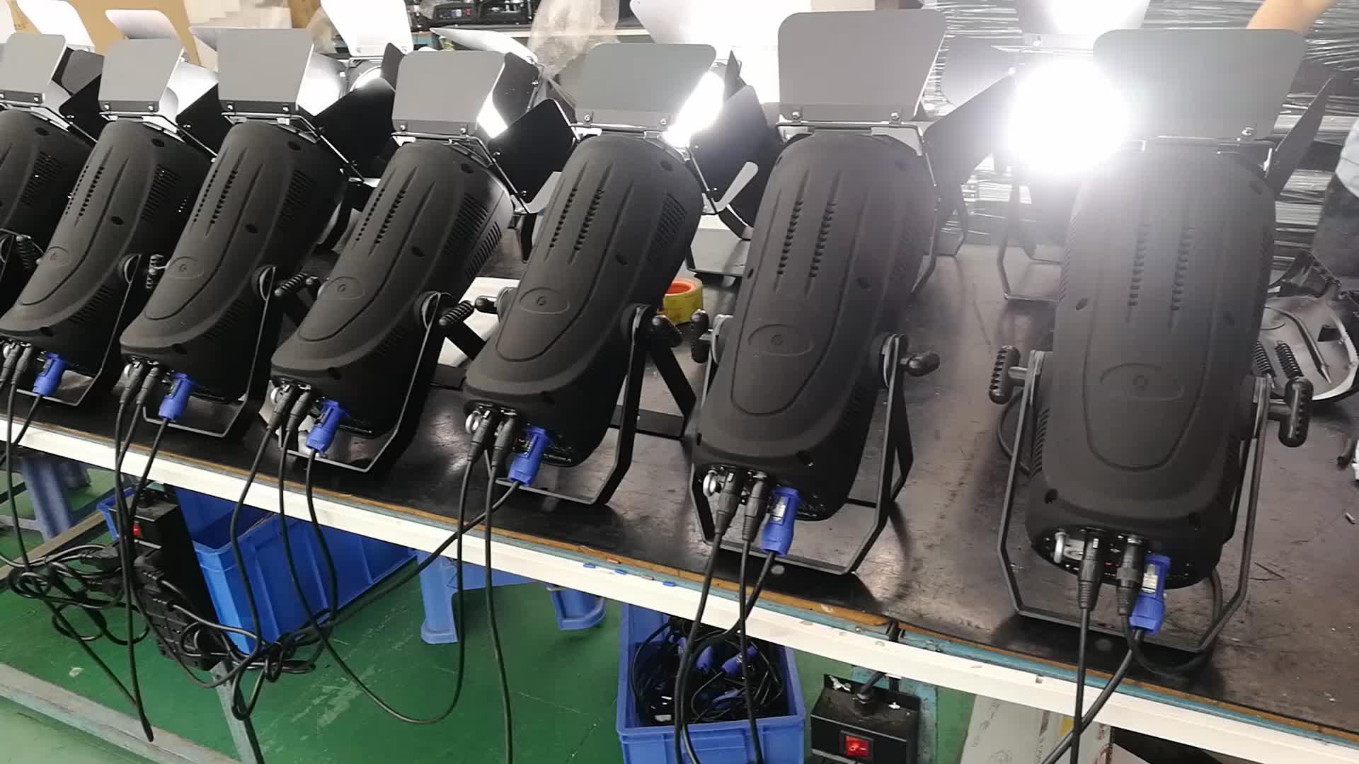 Китайский завод AC-LED COB1003 200 Вт 4в1 rgbw четырехцветный CE сертификат cob студийное светодиодное сценическое освещение