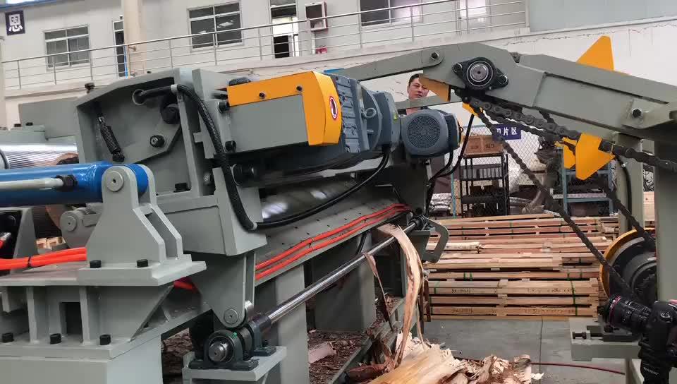 Corteccia di legno peeling macchina/log debarker macchina per la produzione di compensato